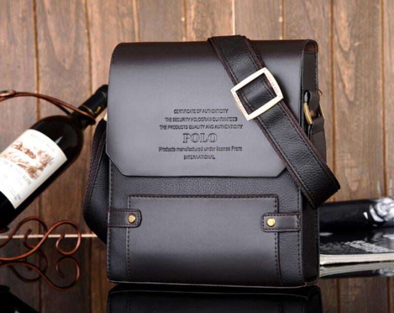 Túi xách Polo cho nam văn phòng nhỏ gọn, tinh tế