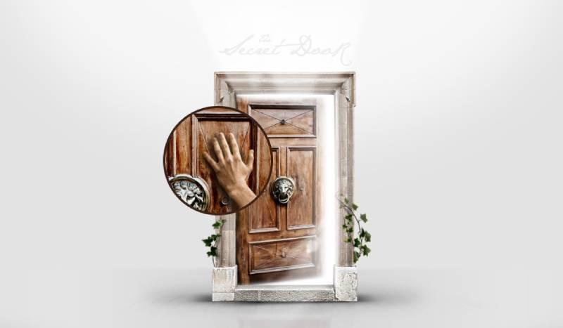 The Secret Door - Website gợi sự tò mò mỗi lần mở cửa