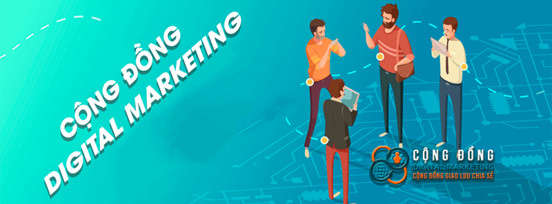 Cộng đồng marketing - nơi chia sẻ nhiều thông tin hữu ích