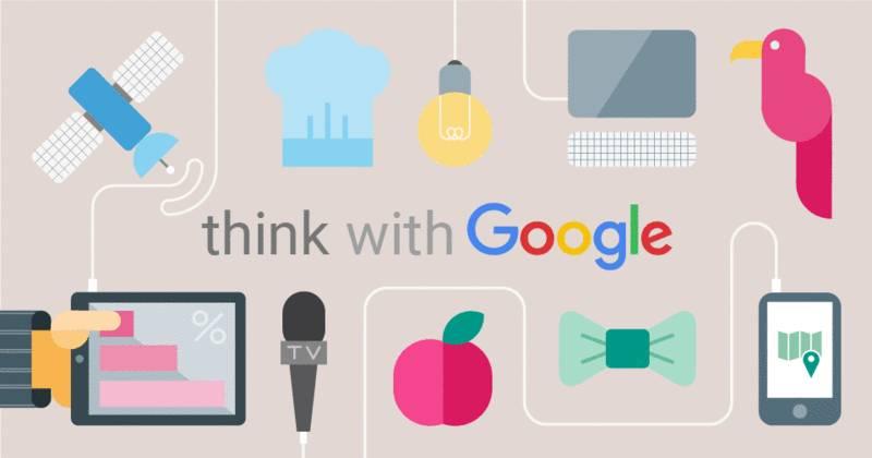 Think With Google - trang web ập nhật những thông tin mới nhất về quảng cáo Google